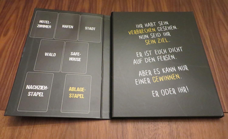 Spielplan als Buch