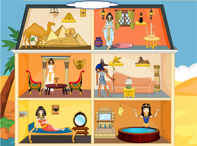 All about egyptian princess decoration for android videos for All decoration games