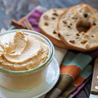 Whipped Pumpkin Cream Cheese.