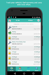 App aCar - Car Management, Mileage APK for Windows Phone