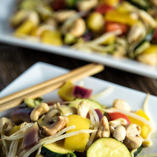 Chicken And Mango Stir-Fry