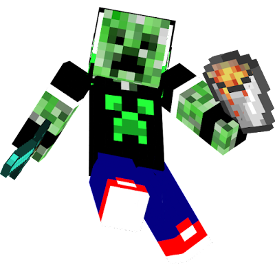 This is My Creeper Plushies Skin
