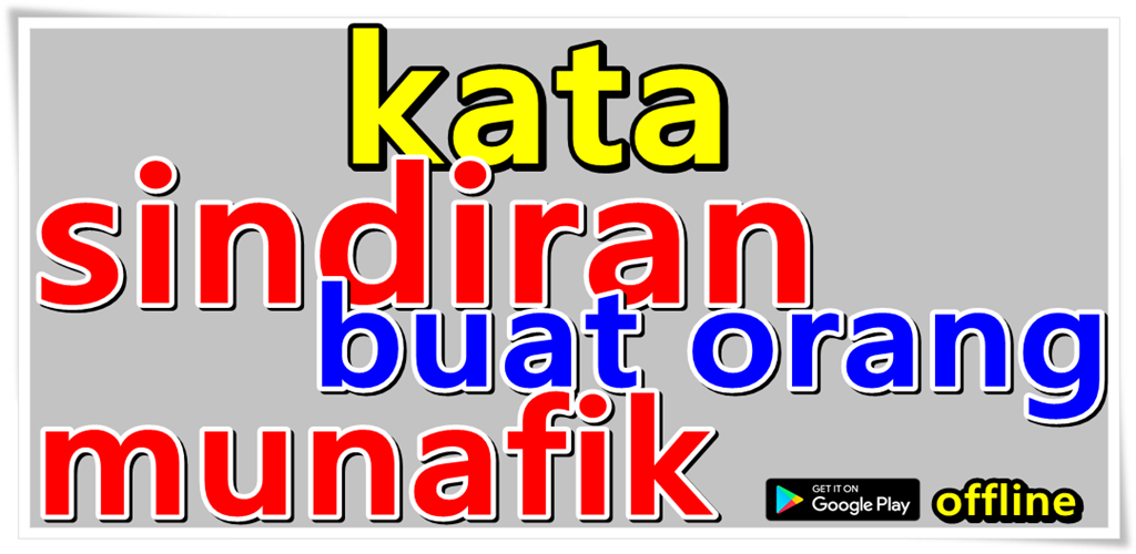 Kata Sindiran Buat Orang Munafik 101 Apk Download Com