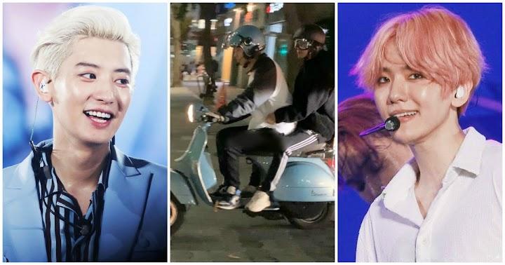 exo medlemmar reaktion på baekhyun dating