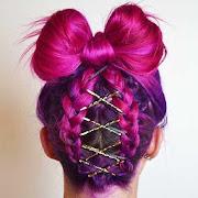 Hairstyles Step by Step Braid Bun & Twist for Girl