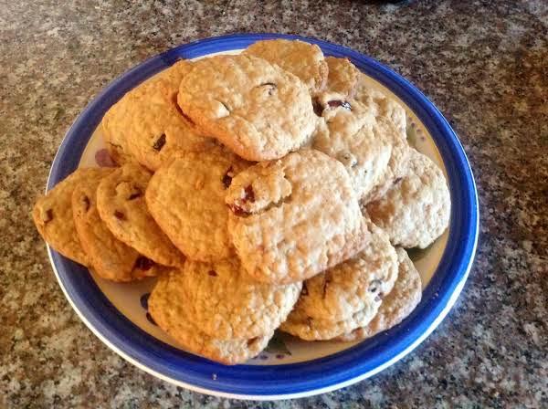 Crazy Crasin Oatmeal Cookies