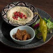 Moutabal Mezza Platter