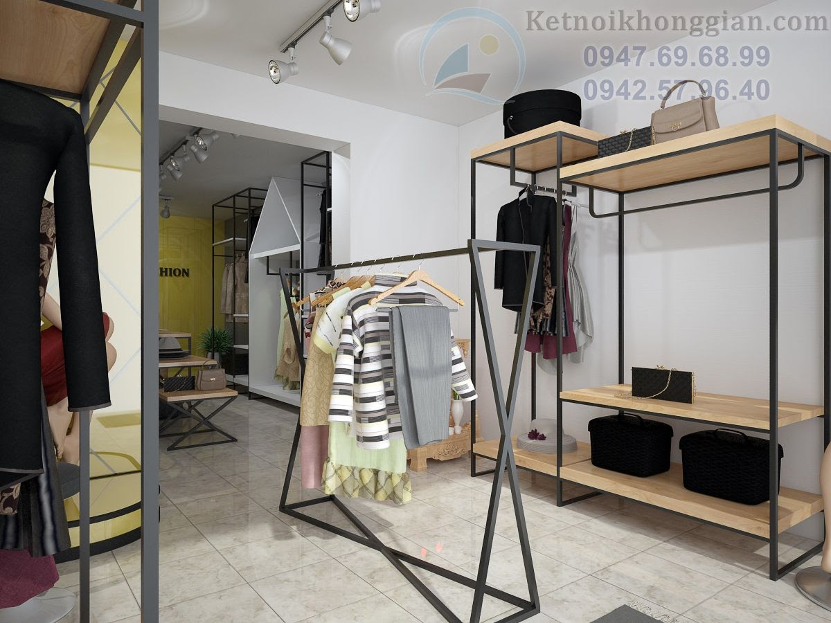 thiết kế shop quần áo chuyên nghiệp