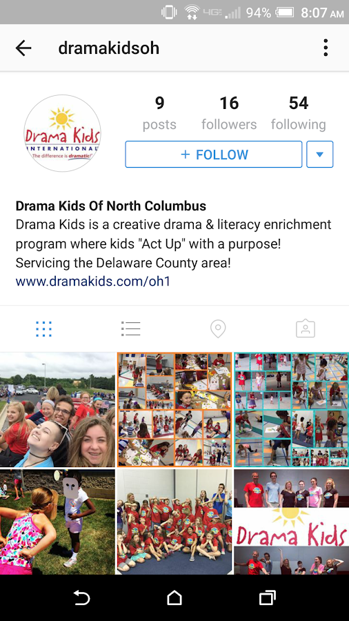 Drama Kids International- screenshot