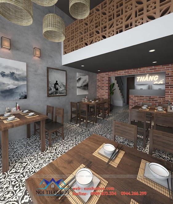 thiết kế nhà hàng thắng cố 3