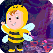 Best Escape Game 538 Slothful Bee Rescue Game