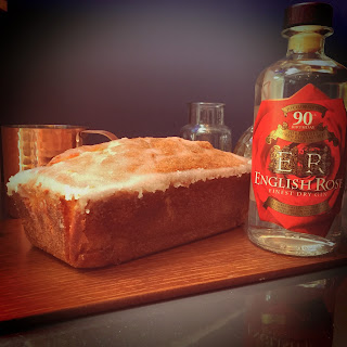 The Queen's 90th Birthday Gin and Tonic Loaf Cake