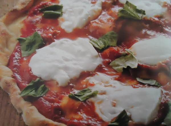 One Delicious Low Fat Pizza Margherita