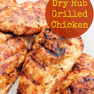 Easy Dry Rub for Chicken.