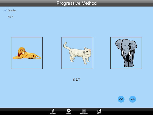 Animals ProgressiveMethod Lite