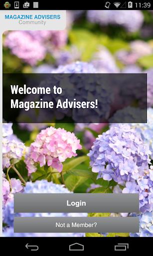 Magazine Advisers Community