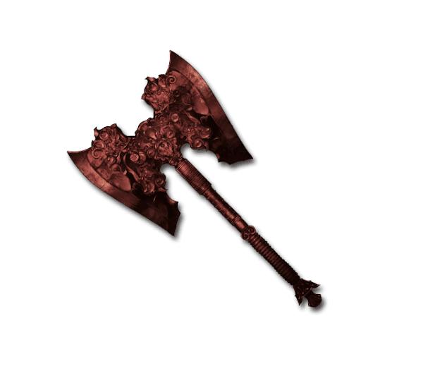 赤き依代の斧