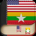 English to Burmese Dictionary - Learn English Free icon