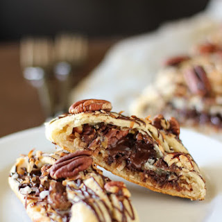 """Magic"" Chocolate, Coconut, and Pecan Pastry Braid"