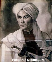 Photo: Pangeran Diponegoro (lukisan).(lahir 11 Nopember 1785 - wafat 8 Januari 1855 di Makassar). http://nurkasim49.blogspot.ae/2011/12/iii.html