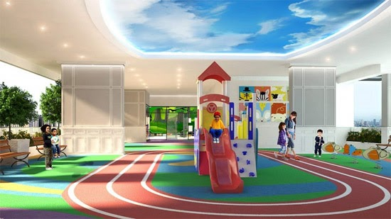 Harbour Park Residences, Mandaluyong play area