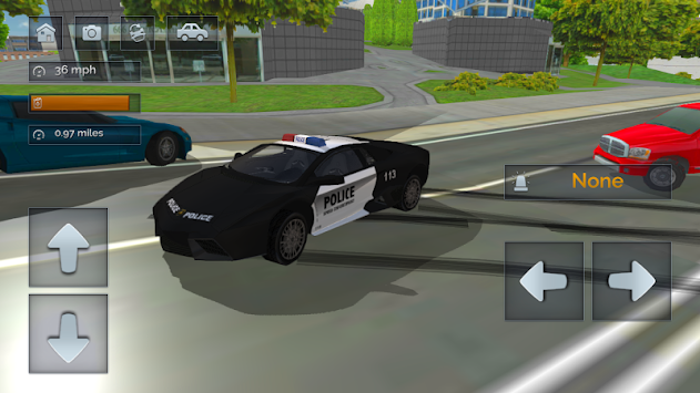 Police Chase - The Cop Car Driver APK screenshot thumbnail 7