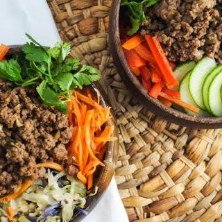Vegetarian Bulgogi Bowls with Vegetables