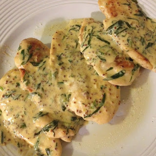 Chicken Breasts with Tarragon sauce