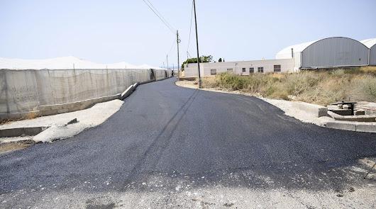 Un fuerte plan de inversión para los caminos rurales de Almería
