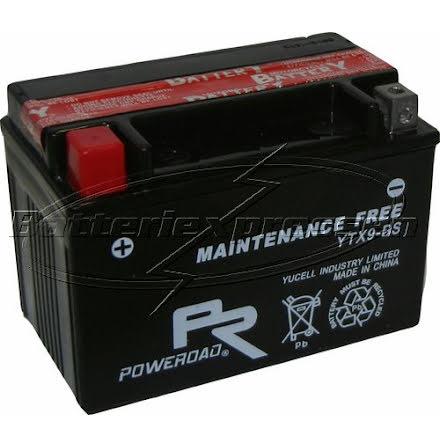 YTX9-BS, MC batteri AGM 8Ah