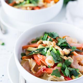Thai Shrimp Noodle Salad.