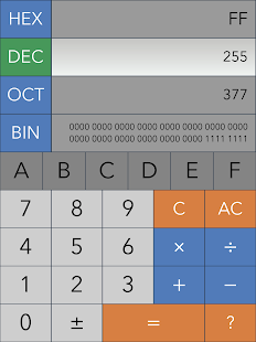 how to change decimal digits in realcalc app