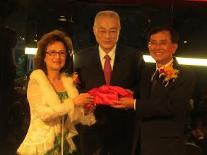 Photo: 副總統吳敦義親臨見證交接儀式