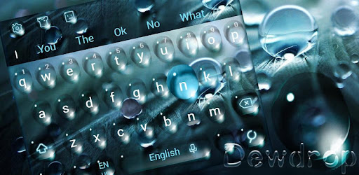 Dewdrop Keyboard app (apk) free download for Android/PC/Windows screenshot