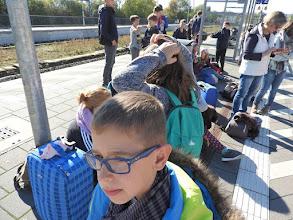 Photo: Wittlich Hbf - Warten auf den Zug in die Heimat