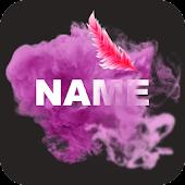 Tải Smoke Effect Art Name APK