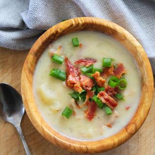 Papas Potato Soup Recipe With Bacon