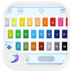 Emoji Keyboard - Watercolor