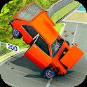 Car Crash Driving Simulator: Beam Car Jump Arena icon