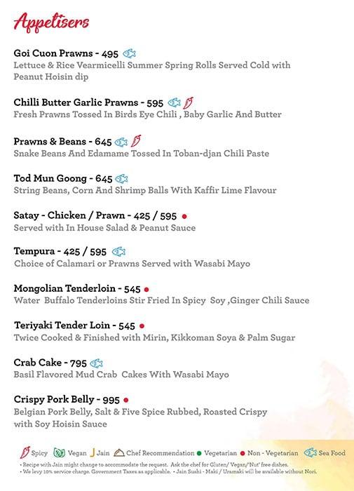 Asian Town menu 4