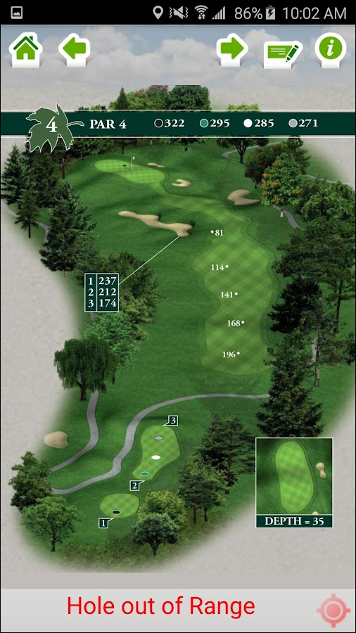 Forest Akers Golf Courses West- screenshot