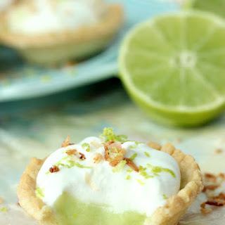 Coconut Lime Tarts.