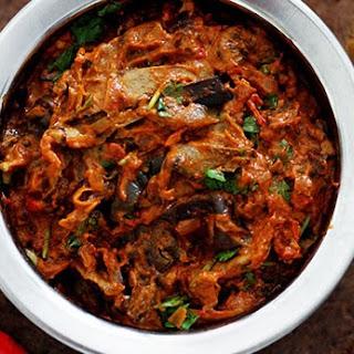 Eggplant Masala Indian Recipes.
