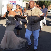 DJ Naves and wife Noluthando.