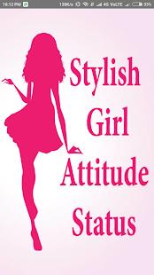 Stylish Girls Attitude Status - náhled