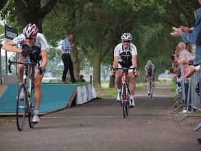 Photo: Finish derde heat