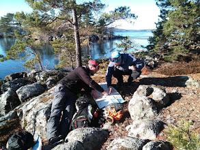 Photo: 020 Kaartnavigatie op Södra Åsunden rots