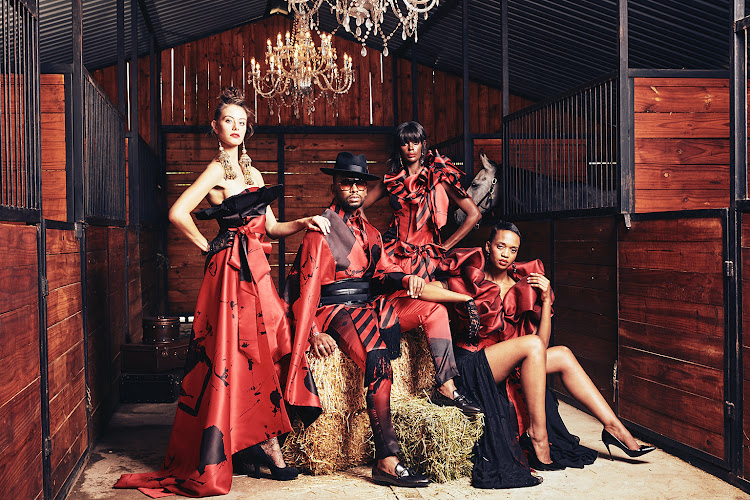 RED by David Tlale