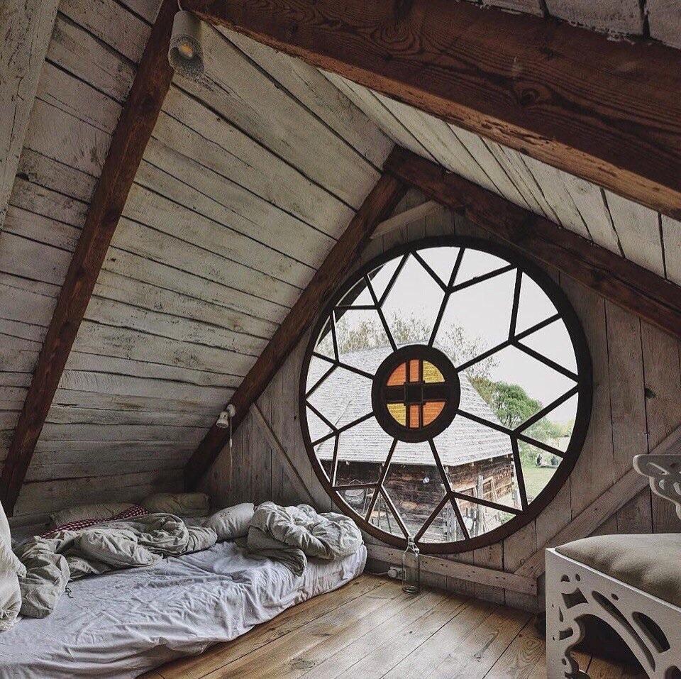 Farmhouse Attic Bedroom Ideas