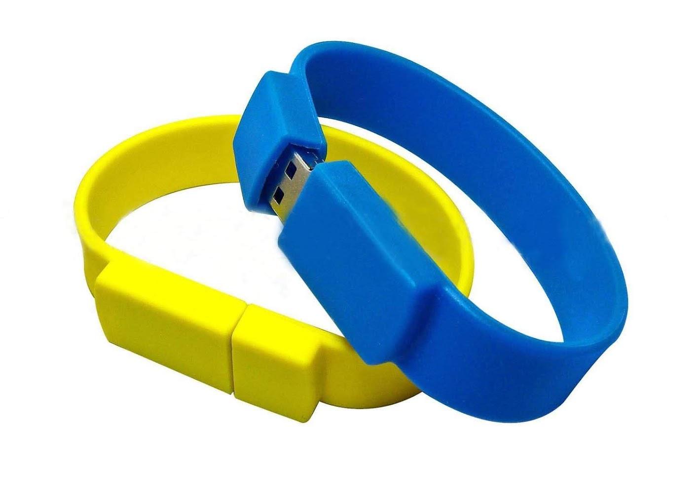 Vòng tay cao su USB